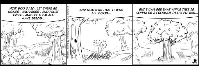 Bible Laughs - Grass Herbs and Fruit Comic