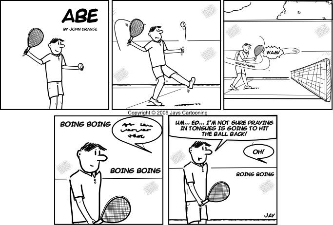 Abe - Unsure Comic