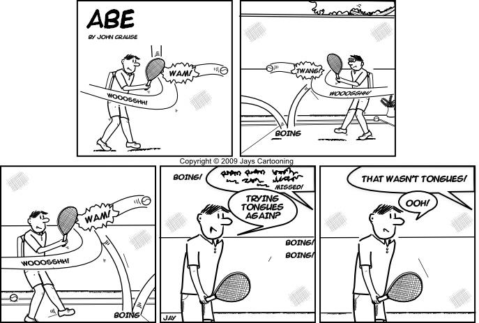 Abe - Tongues Comic