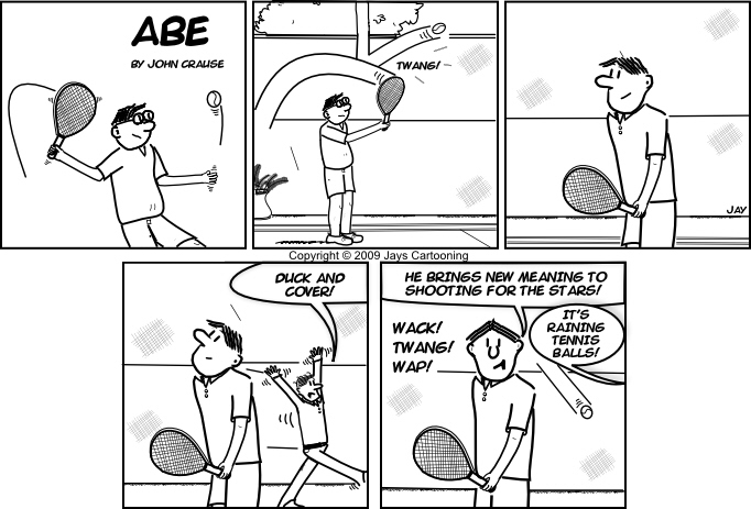 Abe - Shoot For The Stars Comic