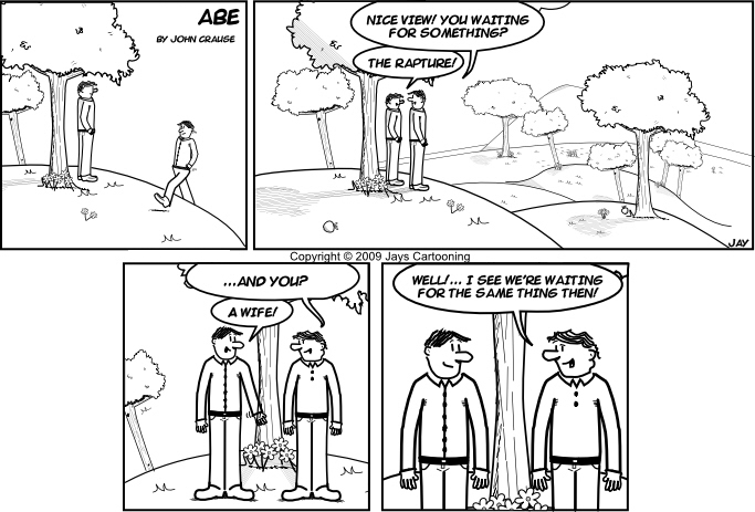 Abe - In Waiting Comic
