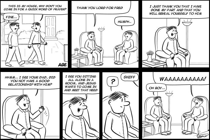 Abe - A Father Comic