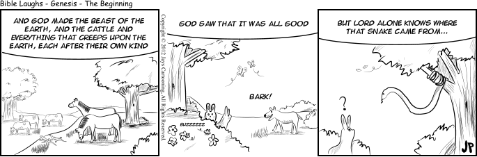 Bible Laughs - A Mystery Comic