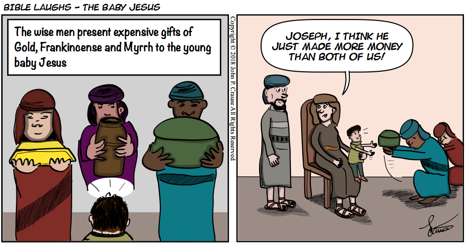 Bible Laughs - Expensive Gifts Comic