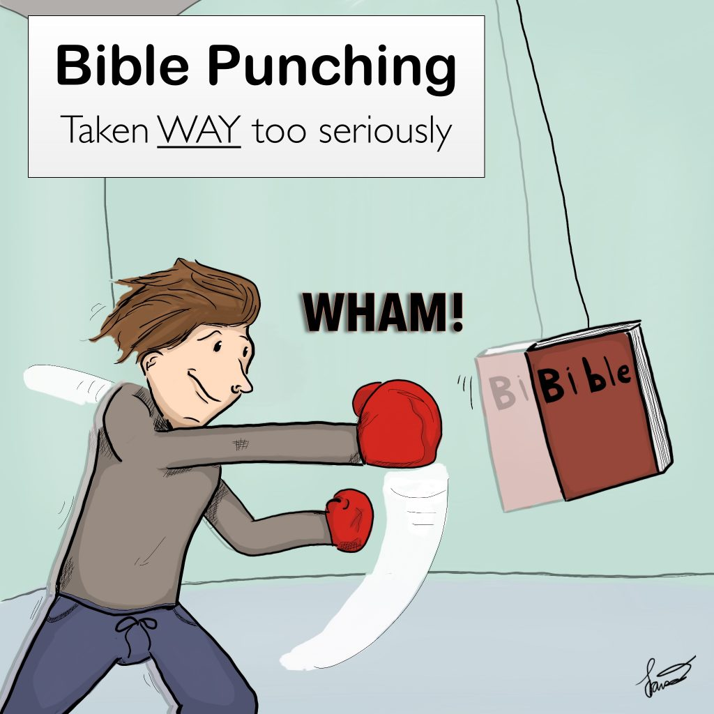 Bible Punching Comic