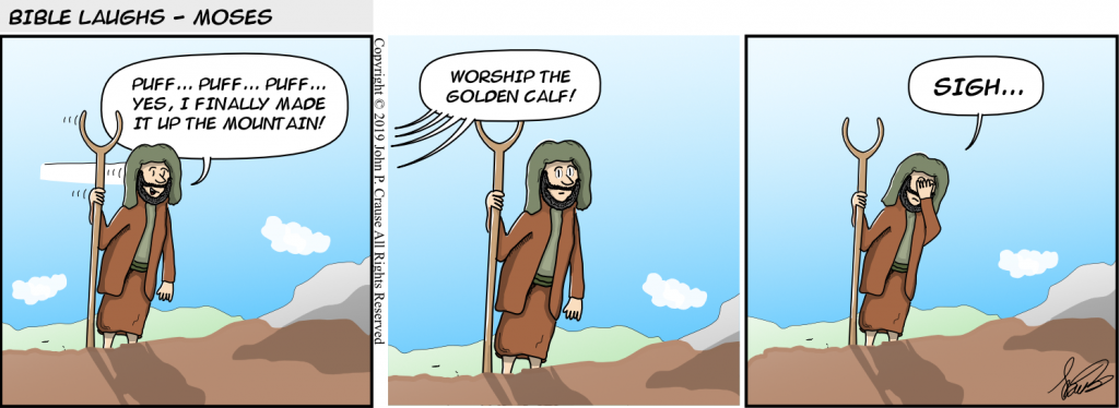 Bible Laughs - Just Got Here Comic