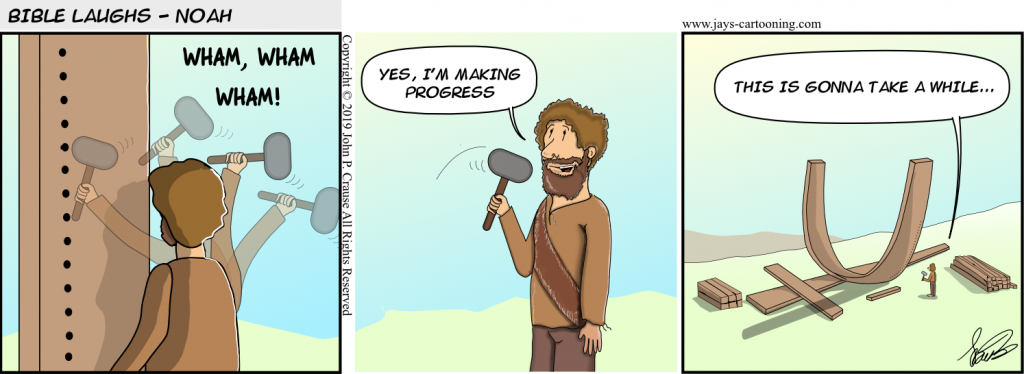 Making Progress Comic