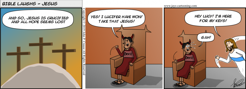 Bible Laughs - The Victory Comic